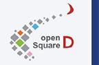 open square D